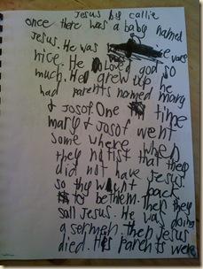 Callie's Jesus Book 008